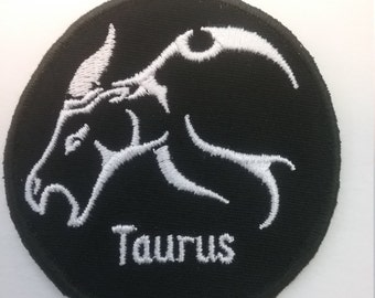 Taurus Zodiac Patch
