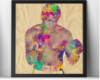 Muhammad Ali Tribute Art Photo Print