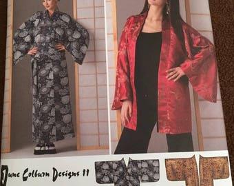 Simplicity #2940 Wrap Skirt & Kimono Style Robe Size AA, XXS, XS, Sm, M