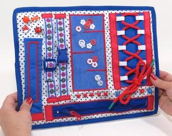 Autism Elderly Quilt Men Women Blanket Security Alzheimers Fidget Mat Busy Blanket Baby Tactile Toy Calming Fiddle Blanket Special Needs Toy