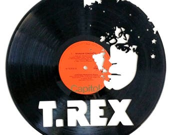 T.Rex - Vinyl Record Art