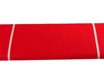 Red tulle fabric by the yard