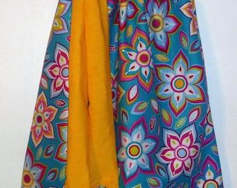 Retro Flower  Pillowcase Dress
