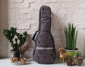 Concert ukulele case - The Paisley (Ready to ship)