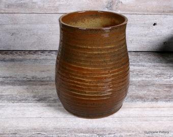 Kitchen Cooking Utensil Holder. Utensil Crock. Utensil Organizer. Vase. Wine Chiller. Made to Order