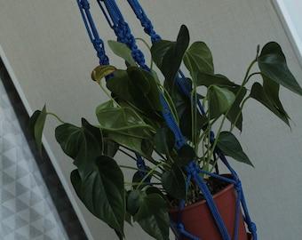 "Hanging plant holder Macrame plant hanger Indoor planter Plant hanger Modern macrame Macrame plant holder Plant pot holder 32"" 80 cm"