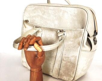 Samsonite Overnight Bag - Vintage Weekender bag -  Retro Laptop Bag  - Road Trip  Luggage - 1970's Carry on Luggage