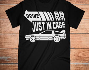 Back To The Future   adult shirt   Delorean   80s   movie shirt   dad gift   vintage   gifts   fashion shirt   retro   cult classic