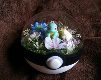 Pokemon terrarium Japan: Squirtle 10cm large