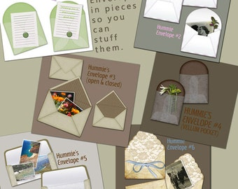 Digital Scrapbooking Envelopes