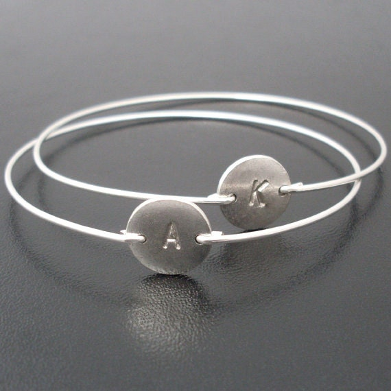 hammered silver grande il products of product bangles sterling set fullxfull six bangle bracelets