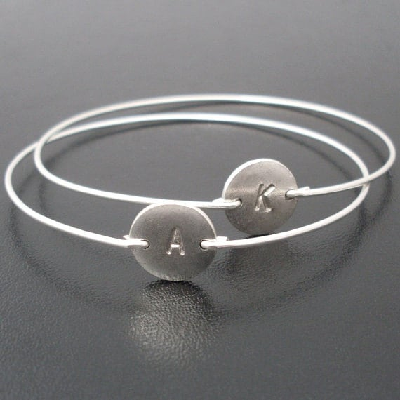 stamped bracelets new bangle hand bangles bracelet live stainless product arrival silver what steel open you cuff love number