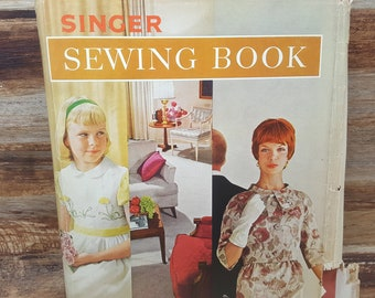 Singer Sewing Book, 1961, READ DESCRIPTIONS, Mary Brooks Picken, vintage sewing book