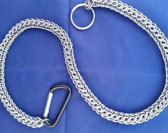 """24"""" Wallet Chain Full Persian or Byzantine 3-in-2 Stainless Steel"""