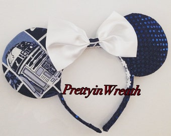 Star Wars inspired Mickey Mouse ears headband