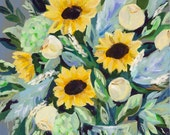 """Summer Bouquet, 8.5""""..."""