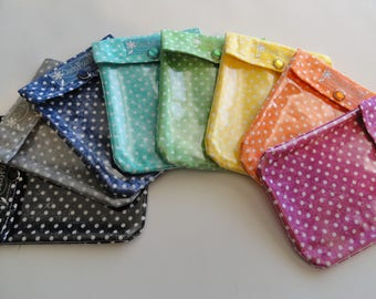 Ouch Pouch (Choose 3) Small 4x5 Clear Purse Organizers Diaper Bag Inserts First Aid/Cosmetics Teachers Best Friend Kid Gift Stocking Stuffer