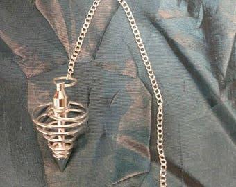 Silver plated Pendulum