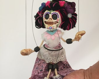Day of the Dead, Señorita - marionette puppet