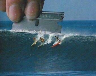Surf Drug Magnet Kokain Cocaine Speed Pep Kühlschrankmagnet