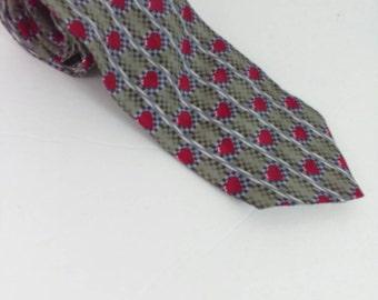 Vintage Valentine's Day Rockabilly Necktie Heart Suit Tie