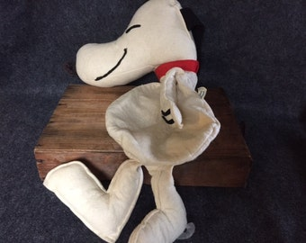 Vintage Snoopy 1966 Simon Simple zip bag