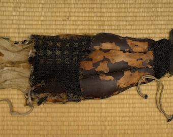 Authentic Japanese Samurai Armour chain male Sleeve The ō-yoroi (大鎧)  Edo Era: 1603 - 1868