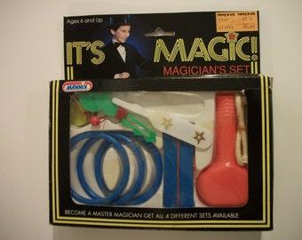 Vintage It's Magic! Children's Magician Set by Mannix- MISB- Set #2 of 4