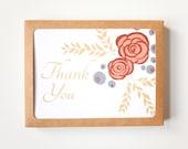 Floral Card Set, Set of 1...