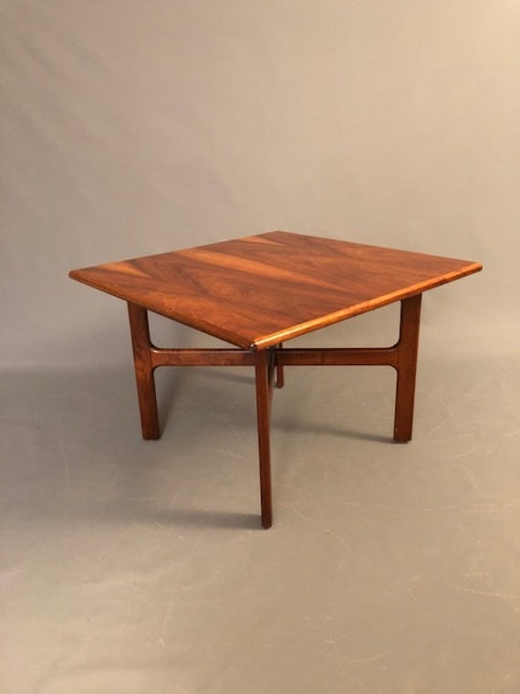Mid-Century walnut Coffee table by D.Mcguire