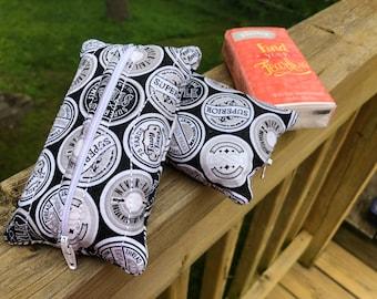Zippered Kleenex Tissue Pouch