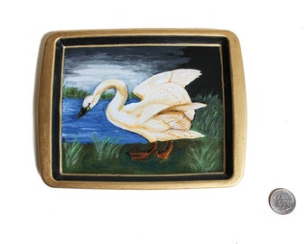 swan mini tray