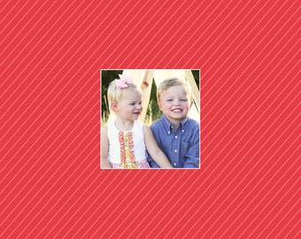 Add a Back to your Photo Christmas Card, Modern Photo card, Merry Christmas, christmas photo cards