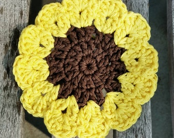 Sunflower coaster