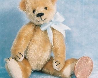 Shaggy - Miniature Teddy Bear Kit - Pattern - by Emily Farmer