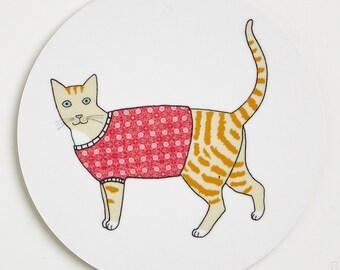 Cat Coaster - Dougal