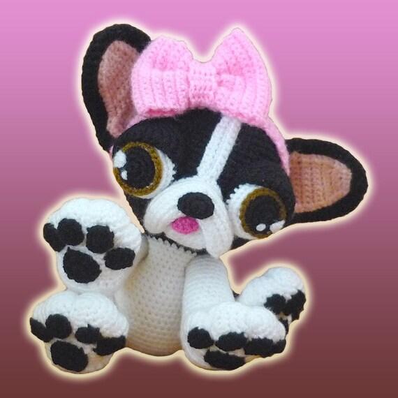 Amigurumi Patron Crochet Dorothy La Bulldog Frances