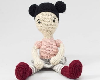 Hook, doll, Soft Toy, amigurumi, for children, decorative accessories, baby birth gift, gift idea. Ready to ship!