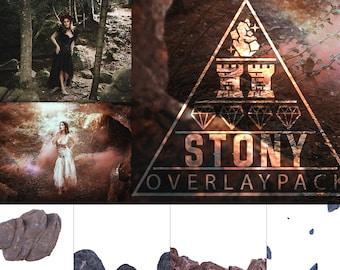 Stony - 45 Stein Overlays