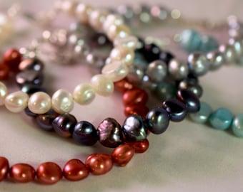 Nugget Pearl Bracelet