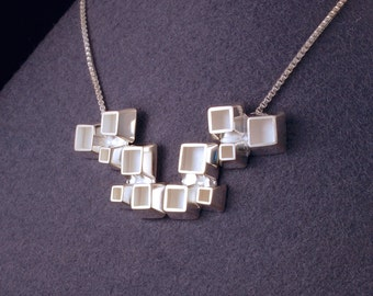 cube group necklace