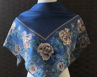 Vera Silk Scarf, Vintage Vera Neumann Silk Scarf, Vintage Silk Scarves, Silk Accessories, Vera Accessories, Vintage Scarves, Scarves