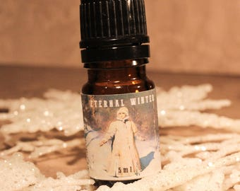 ETERNAL WINTER Artisan Perfume Oil, Woodsy Perfume Oil, Warm Handmade Fragrance, Winter Perfume, Handmade Artisan Perfume Oil