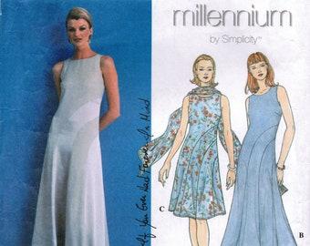 SIMPLICITY 8600 sewing pattern. Dress pattern.  Size 10-12-14  New.  Uncut.  Factory folded.