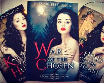 Autographed Born Vampire series
