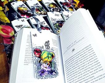 Magic garden bookmarks