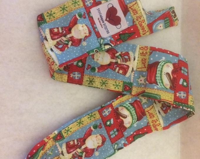 Stethoscope cover- Santas and Snowmen
