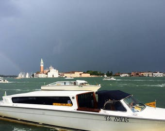 Fotografia – Taxi a Venezia , Aprile 2017 / Photography – Taxi in Venice , April 2017