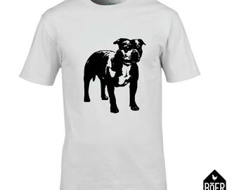 Staffordshire bull terrier, Stafford, T-shirt, white or black, size S/M/L/XL