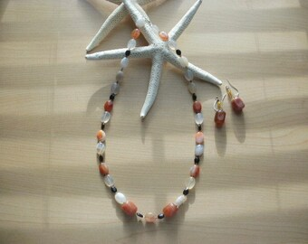 Natural Beauty Necklace and Earring Set